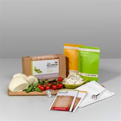 MOZZARELLA & RICOTTA Big Cheese Making Kit