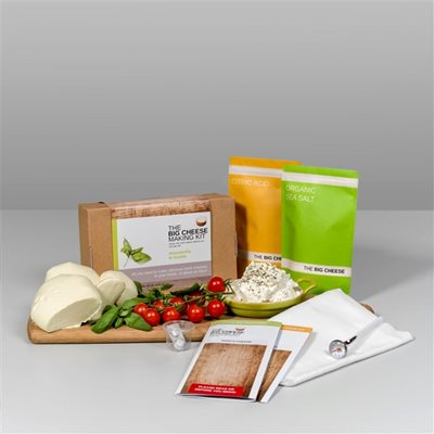 MOZZARELLA & RICOTTA Big Cheese Making Kit