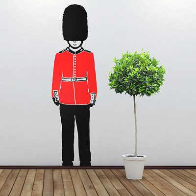 QUEENS GUARD WALL STICKERS