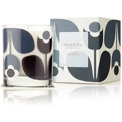 Orla Kiely Scented Candle in Bluebell & Rosemary