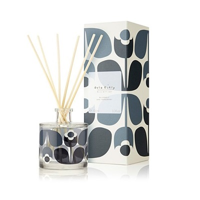 Orla Kiely Reed Diffuser in Bluebell and Rosemary