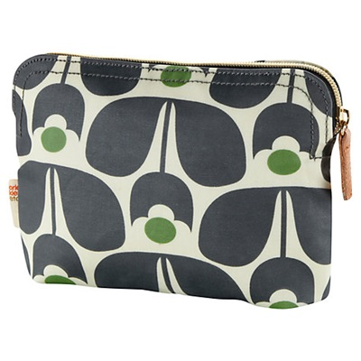 Orla Kiely Cosmetic Bag in Wallflower