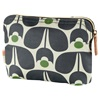 Orla Kiely Wash & Cosmetic Bag in Wallflower Design
