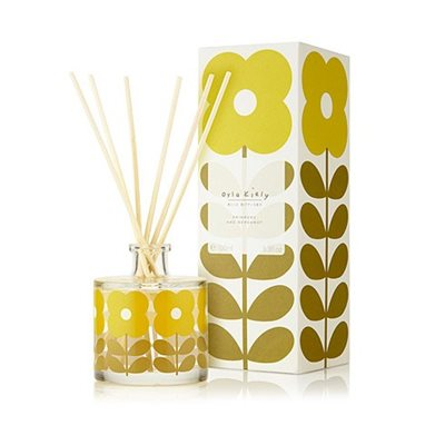 Orla Kiely Reed Diffuser in Primrose and Bergamot