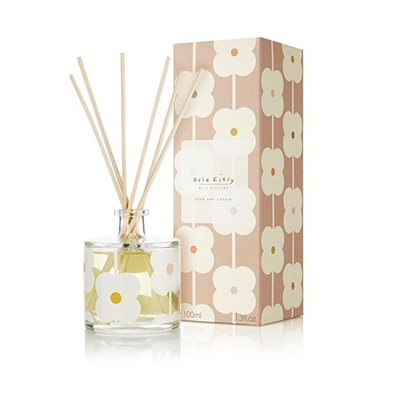 Orla Kiely Reed Diffuser in Sage and Cassis