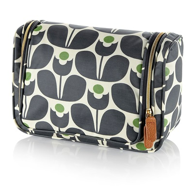 Orla Kiely Large Wash Bag in Wallflower