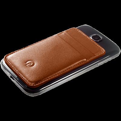PATRONA MAGNETIC S3/S4 Samsung Wallet in Acorn Brown