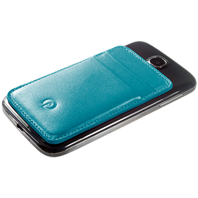 PATRONA MAGNETIC S3/S4 Samsung Wallet in Kingfisher Blue