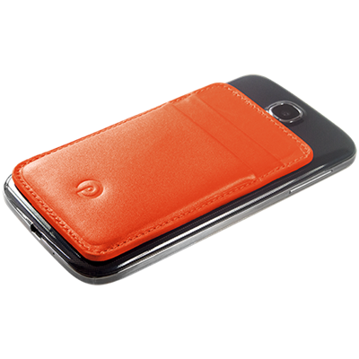 PATRONA MAGNETIC S3/S4 Samsung Wallet in Fox Tail Orange
