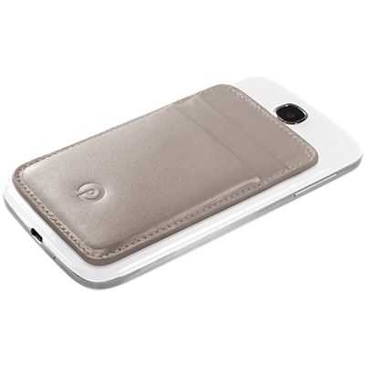 PATRONA MAGNETIC S3/S4 Samsung Wallet in Oyster Shell