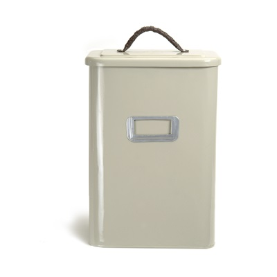 SQUARE LARGE PET BIN in Clay Colour