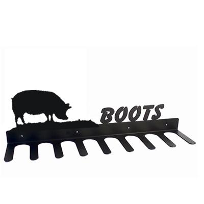 BOOT RACK in Pig Design