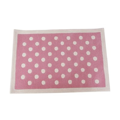 RUG in Pink Dotty Design