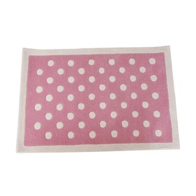 RUG in Pink Dotty Design