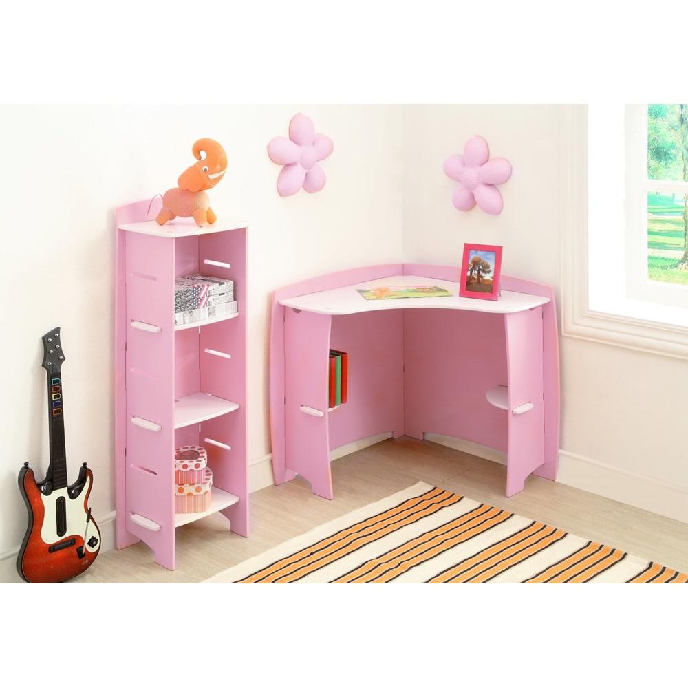Princess Corner Desk Pink Easy Fit Kids Jpg