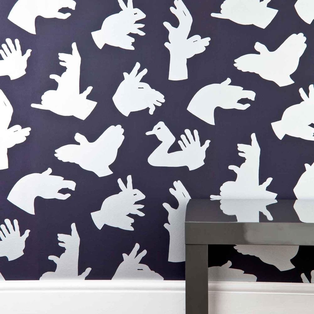 Purple Wallpaper For Bedrooms Designer Kids Wallpaper Hand Made In Purple Bedroom Decor Cucko