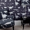 Wallpaper in Dinosaur Design