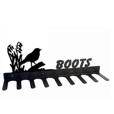 BOOT RACK in Robin Design