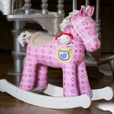 RUBY & BELLE ROCKING HORSE