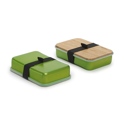 SANDWICH LUNCH BOX WITH BOARD in Lime
