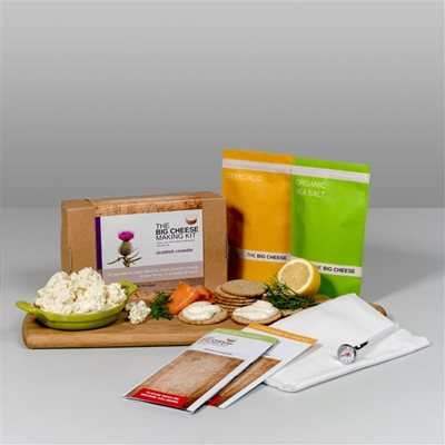 SCOTTISH CROWDIE Big Cheese Making Kit