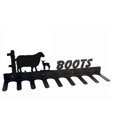 BOOT RACK in Sheep Design