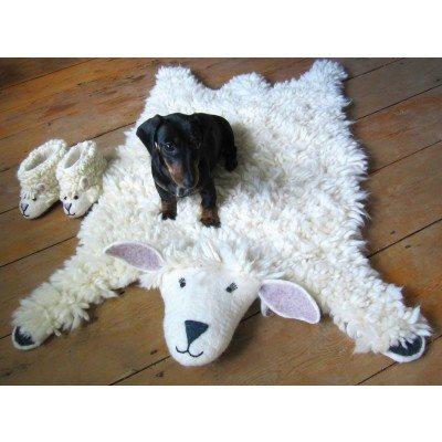 ANIMAL RUG in Shirley Sheep Design