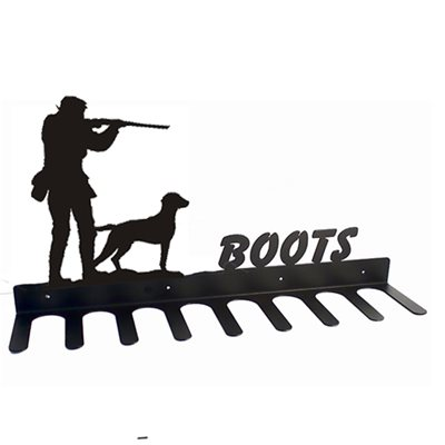 BOOT RACK in Gun Spaniel Design
