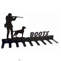 BOOT RACK in Gun Spaniel Design  Medium