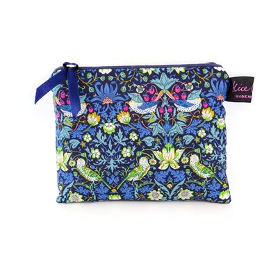 STRAWBERRY THIEF LIBERTY PURSE