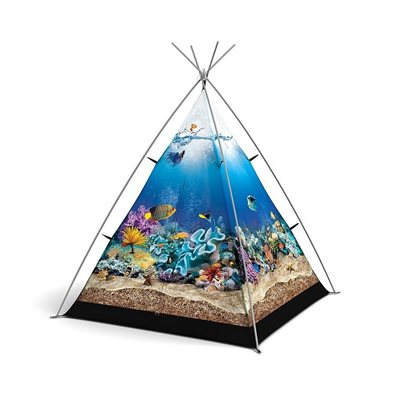 SOMETHING FISHY KIDS TENT by Field Candy