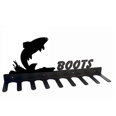 BOOT RACK in Splash Fish Design