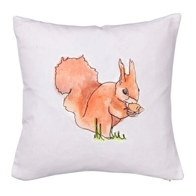 SQUIRREL CUSHION By Stefanie Pisani