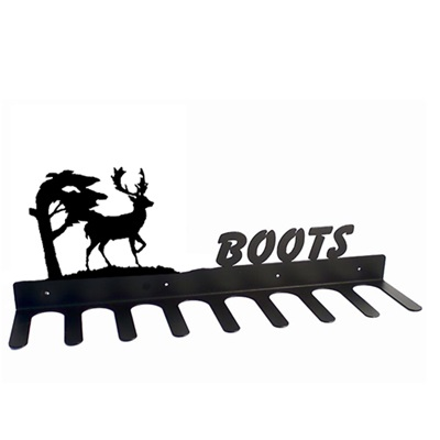 BOOT RACK in Stag Design
