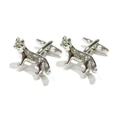 MENS CUFFLINKS in Crafty Fox Design