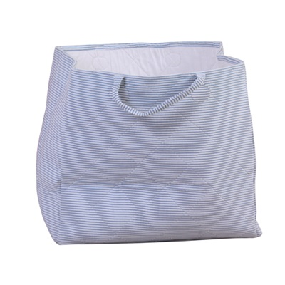 STORAGE BAG in Candystripe Blue