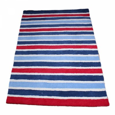 RUG in Boys Stripe Design