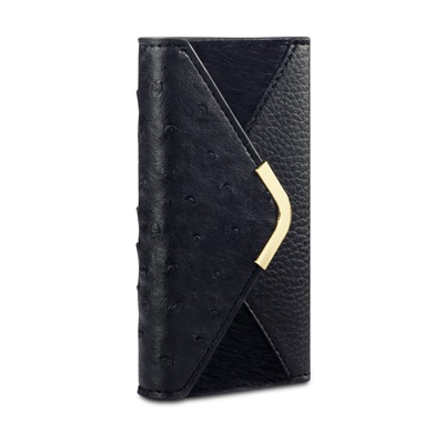 SUKI Faux Leather iPhone Case in Black by Covert