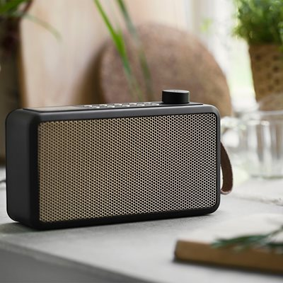 tRadio Dab Radio in Black