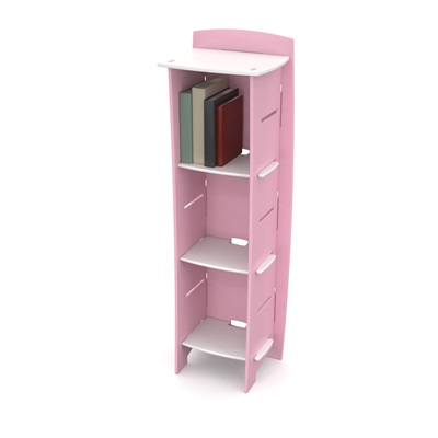 EASY FIT KIDS TALL BOOKCASE in 'Princess' Design