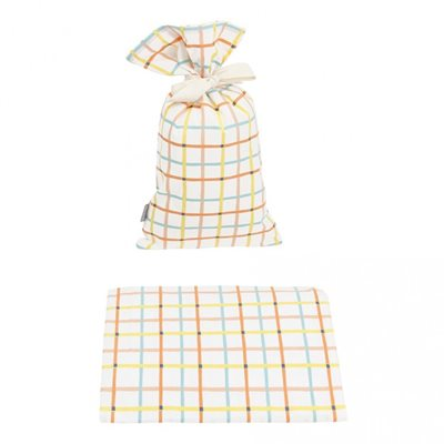 OLLI ELLA SINGLE FITTED COT BED SHEET in Tartine Design