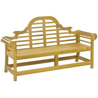 LUTYENS TEAK 6FT BENCH by Alexander Rose