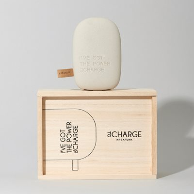toCHARGE POWERBANK in Light Grey