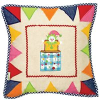TOY SHOP Cushion Cover by Win Green