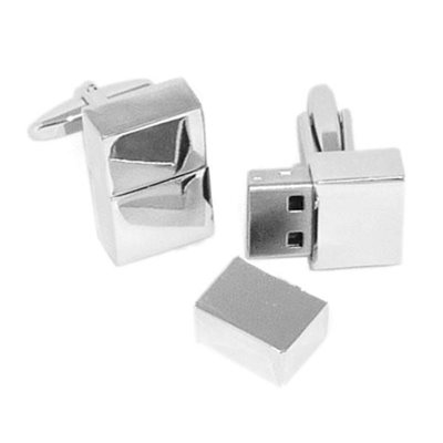 MENS CUFFLINKS in USB Memory Stick Design