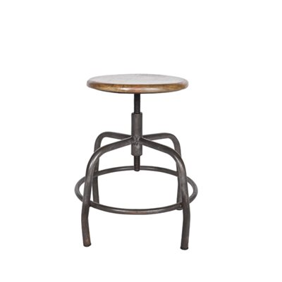 INDUSTRIAL SPIDER LEG BAR STOOL