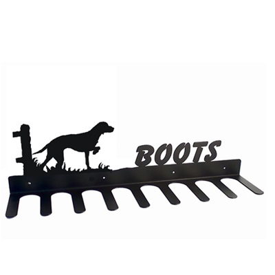 BOOT RACK in Vizsla Dog Design