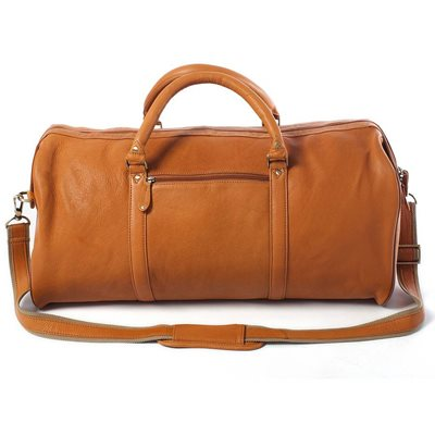 WEEKENDER TRAVEL BAG In Tan by Adventure Avenue