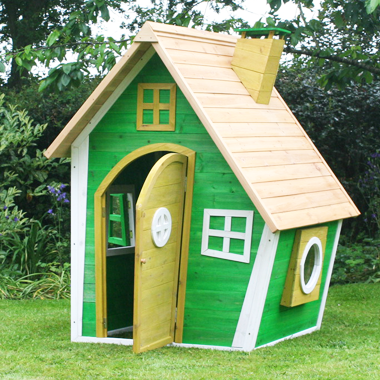 CHILDREN'S WHACKY WOODEN RANCH PLAYHOUSE by Garden Games