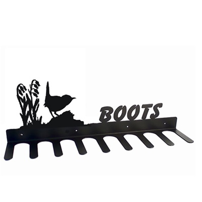 BOOT RACK in Wren Design